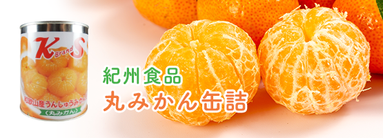 紀州食品丸みかん缶詰